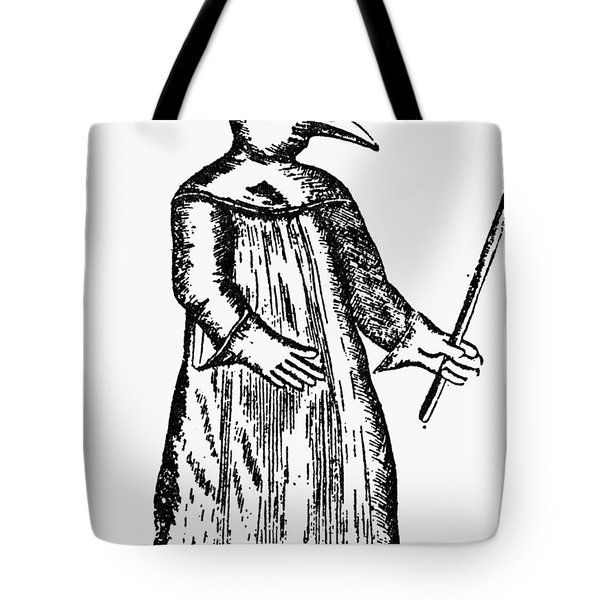 Plague Costume, 1720 Tote Bag by Granger