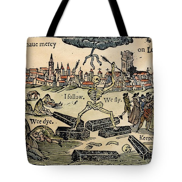Plague Of London, 1665 Tote Bag by Granger