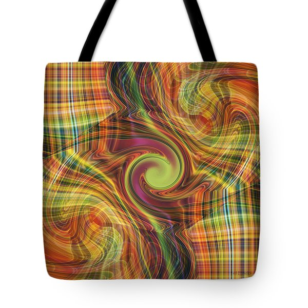 Plaid Tumble Tote Bag