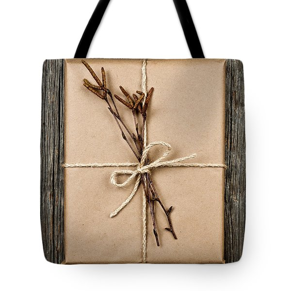 Plain Gift With Natural Decorations Tote Bag