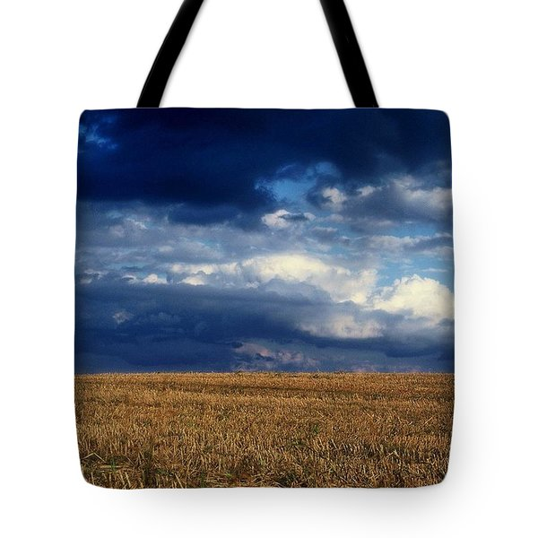 Tote Bag featuring the photograph Plain Sky by Rodney Lee Williams