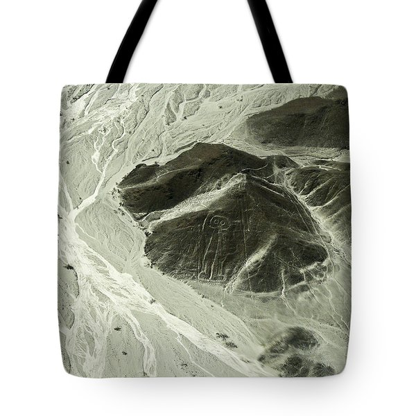 Plains Of Nazca - The Astronaut Tote Bag