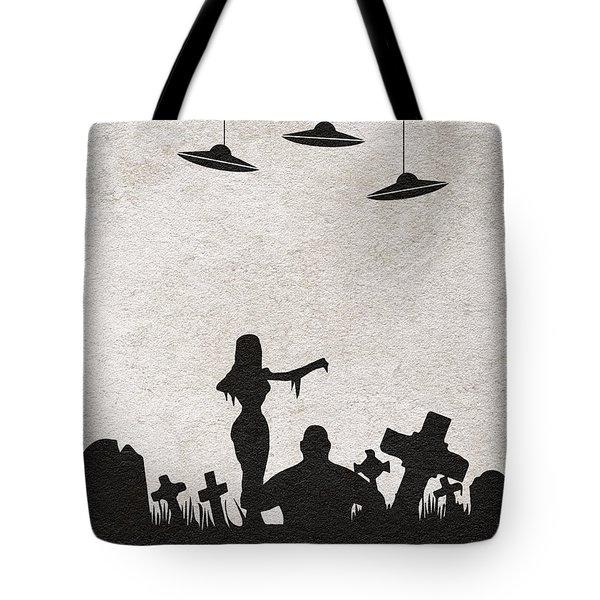Plan 9 From Outer Space Tote Bag