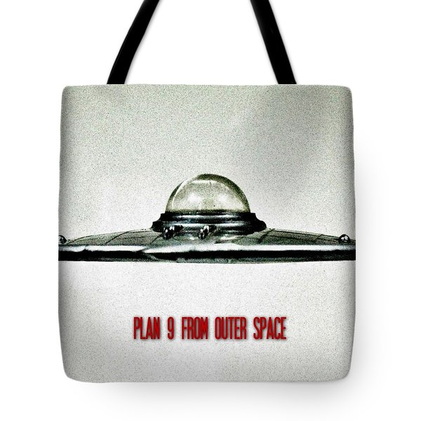 Plan 9 From Outer Space Tote Bag by Benjamin Yeager