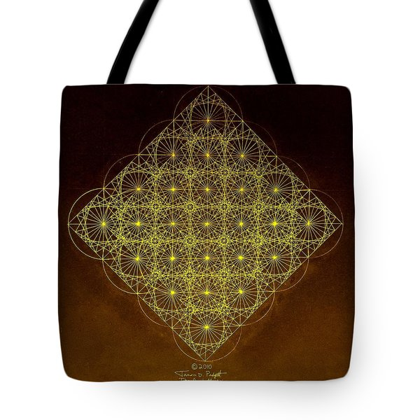 Planck Space Time  Tote Bag by Jason Padgett