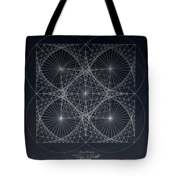 Plancks Blackhole Tote Bag