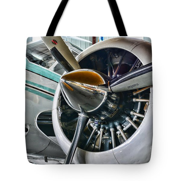 Plane First Class Tote Bag by Paul Ward