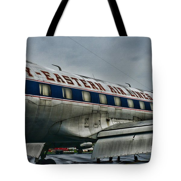 Plane Fly Eastern Air Lines Tote Bag by Paul Ward