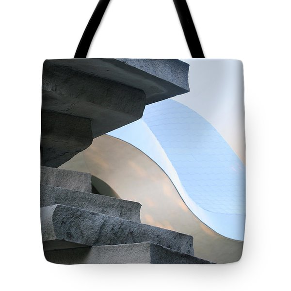 Planes And Curves Tote Bag