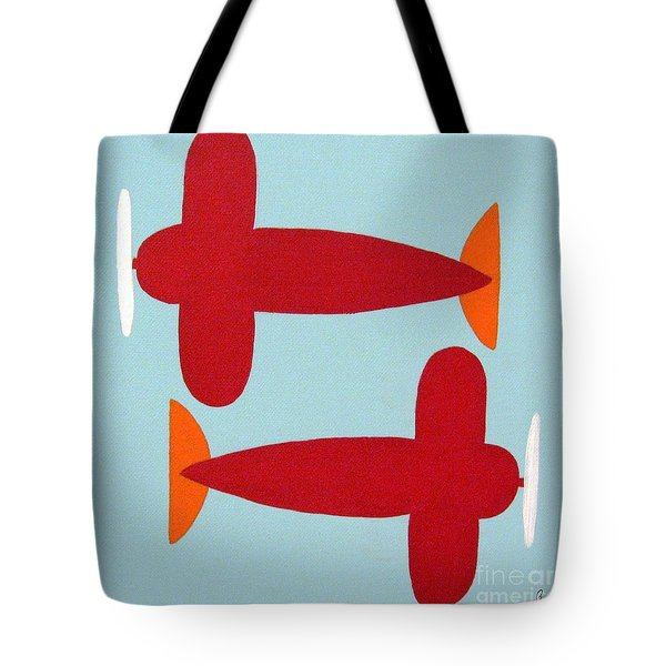 Planes  Tote Bag by Graciela Castro