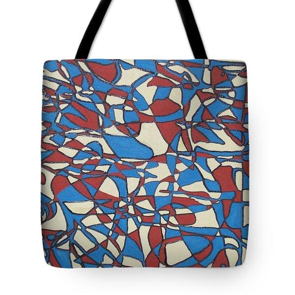 Planet Abstract Tote Bag by Jonathon Hansen