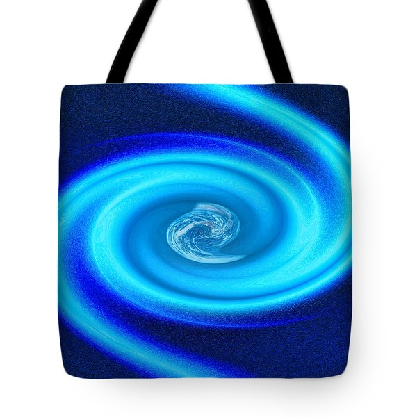 Planet At The Center Of The Galaxy Tote Bag