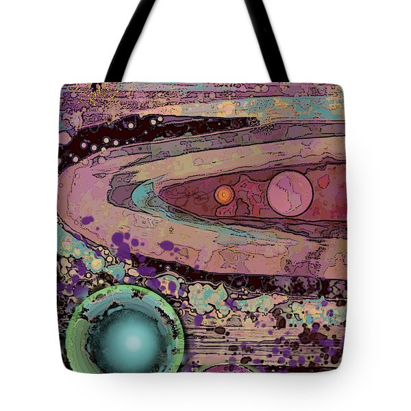 Planet Metallica Tote Bag by Carol Jacobs
