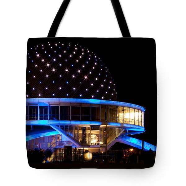 Tote Bag featuring the photograph Planetarium by Silvia Bruno