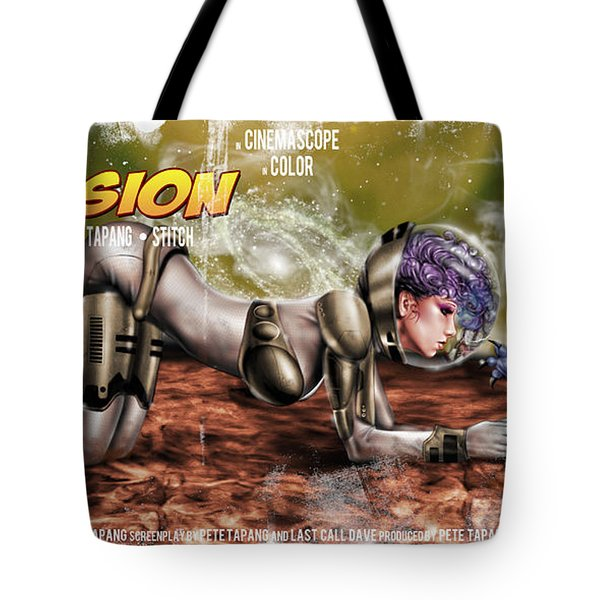 Planetary Invasion Tote Bag