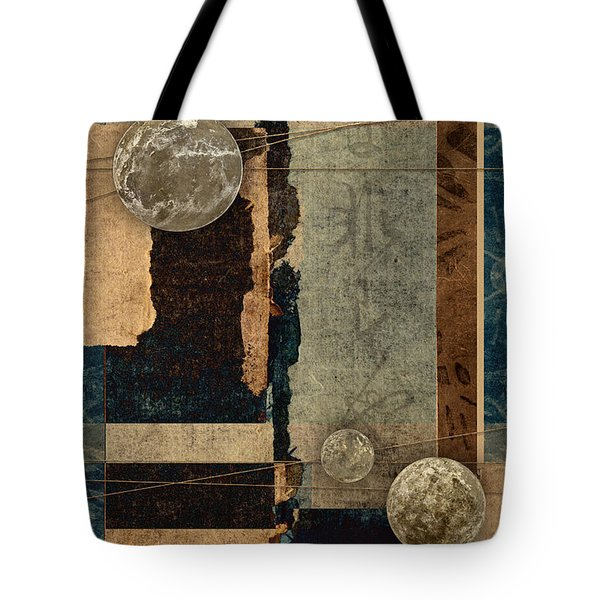 Planetary Shift #2 Tote Bag by Carol Leigh