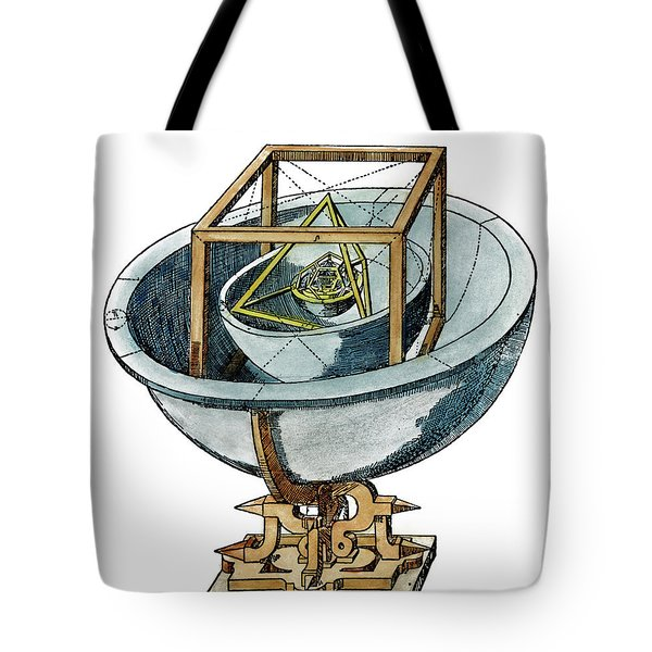 Planetary System, 1596 Tote Bag