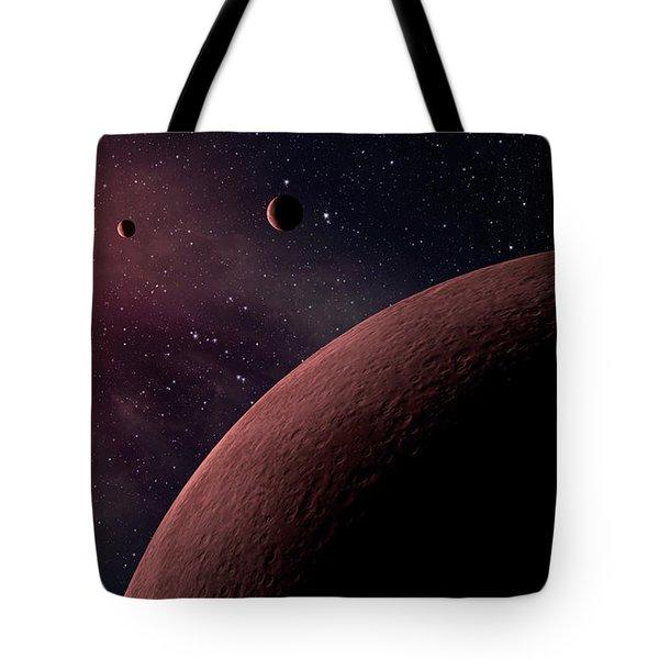 Planetary System Koi-961 Tote Bag by Movie Poster Prints