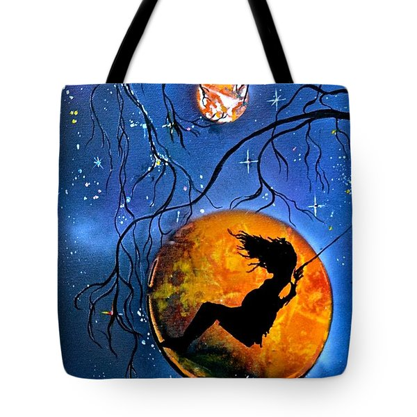 Planet Swing Tote Bag