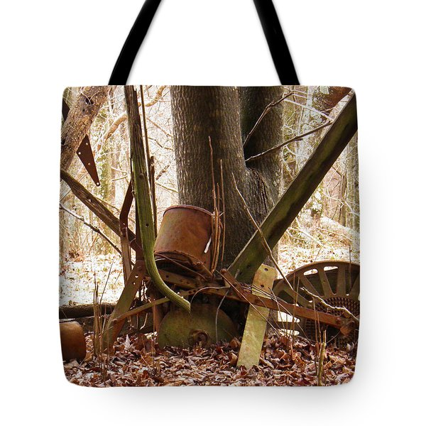 Tote Bag featuring the photograph Planted Planter by Nick Kirby