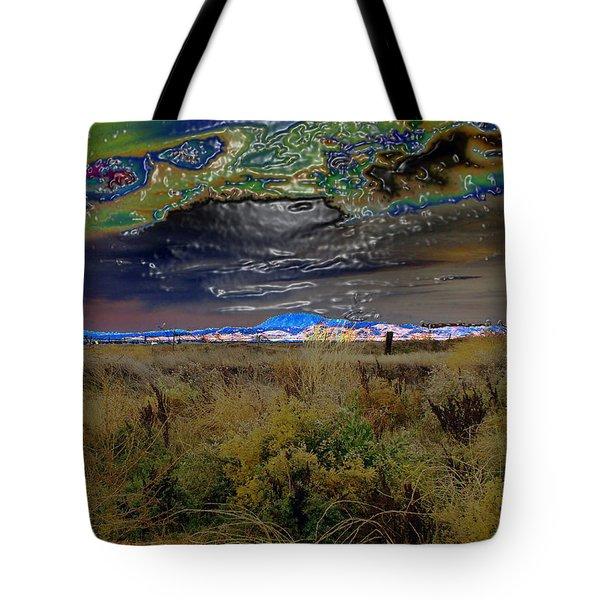 Plasma Sky Tote Bag