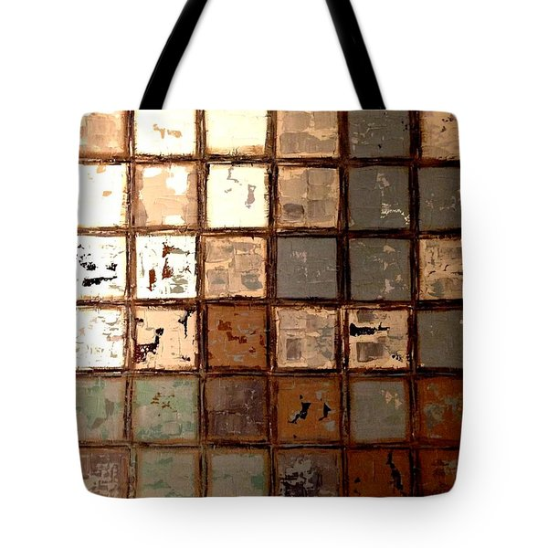 Plastered Wall Tote Bag