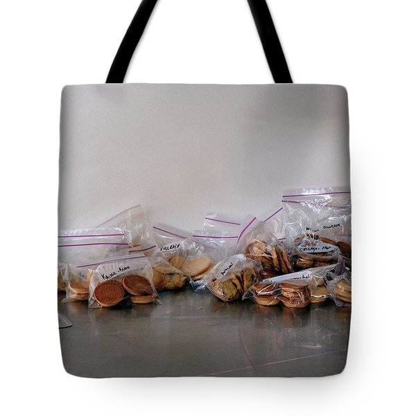 Plastic Bags Of Cookies Tote Bag