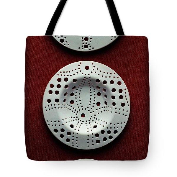 Plastic Drain Traps Tote Bag