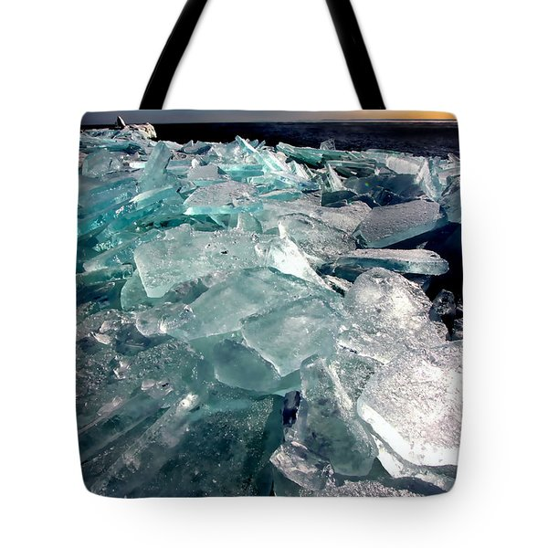 Plate Ice  Tote Bag