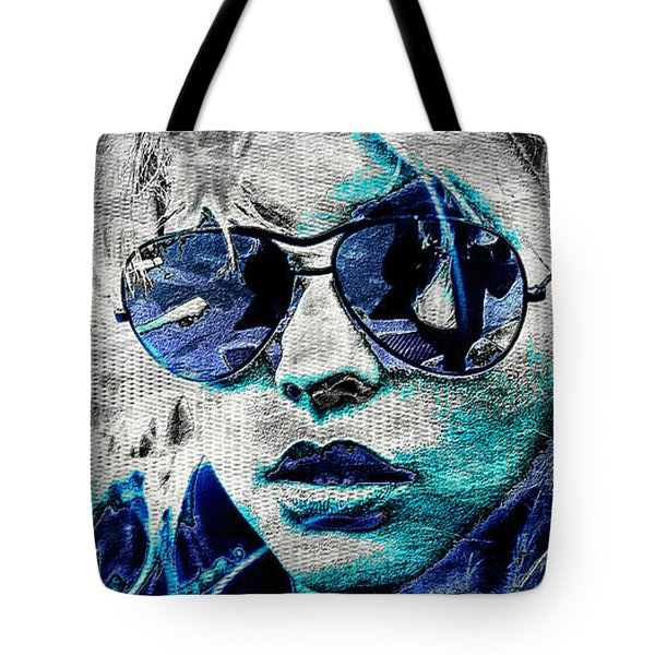 Platinum Blondie Tote Bag