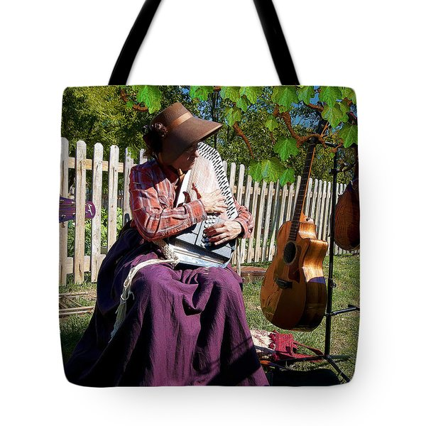 Play A Song For Me Tote Bag by Liane Wright