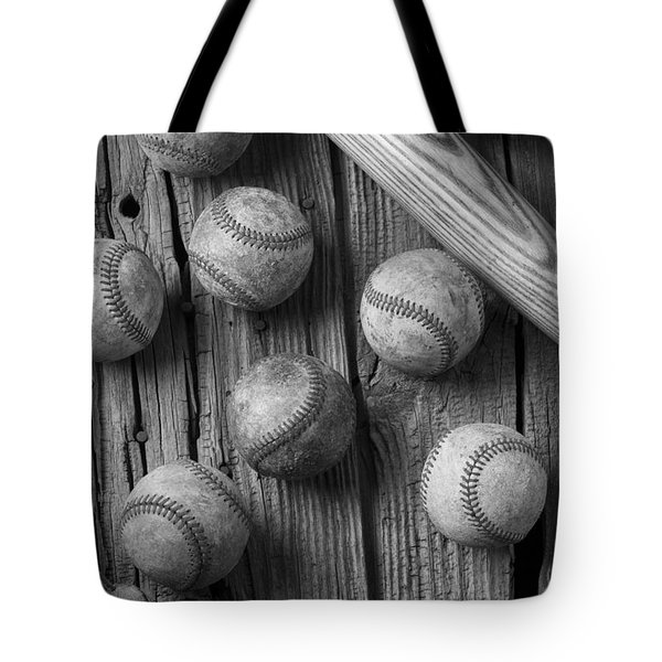 Play Ball Tote Bag by Garry Gay