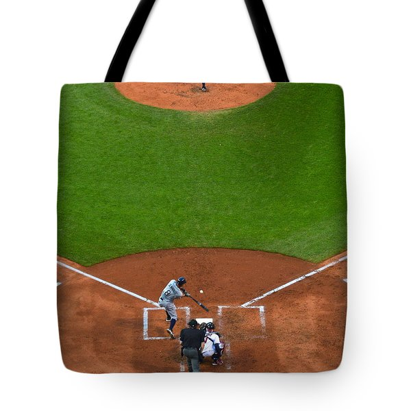 Play Ball Tote Bag by Frozen in Time Fine Art Photography