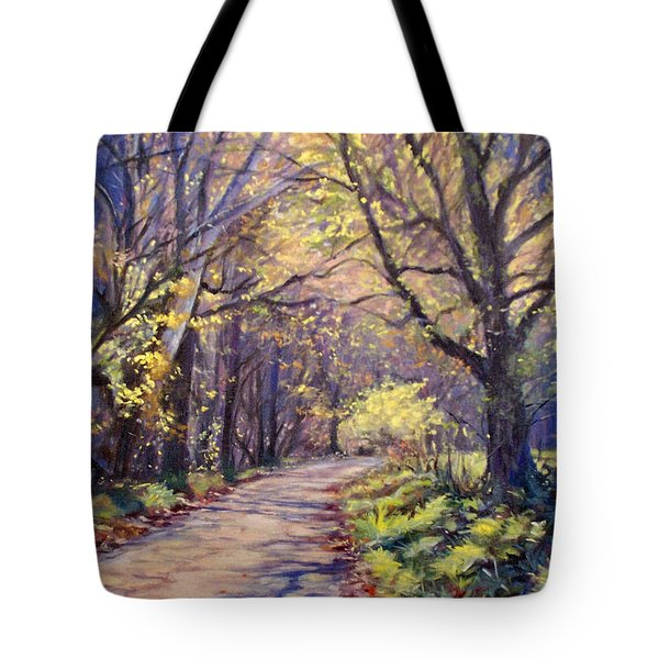 Play Of Light Tote Bag by Bonnie Mason