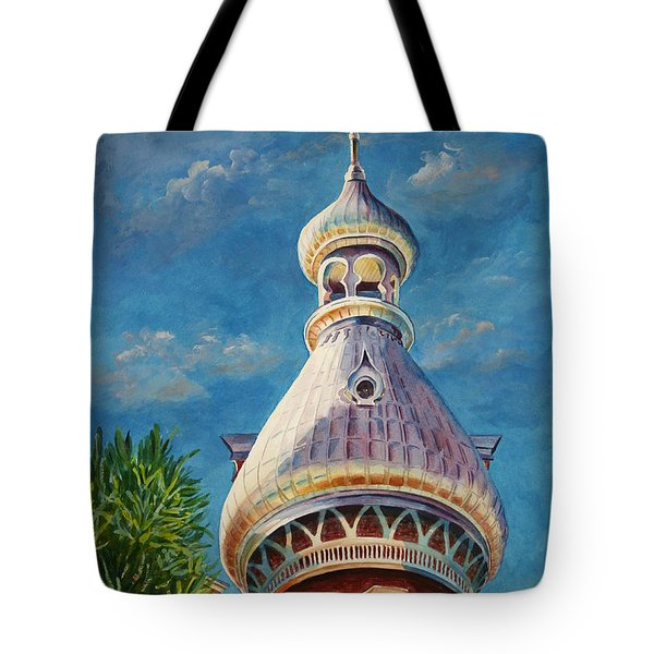 Play Of Light - University Of Tampa Tote Bag