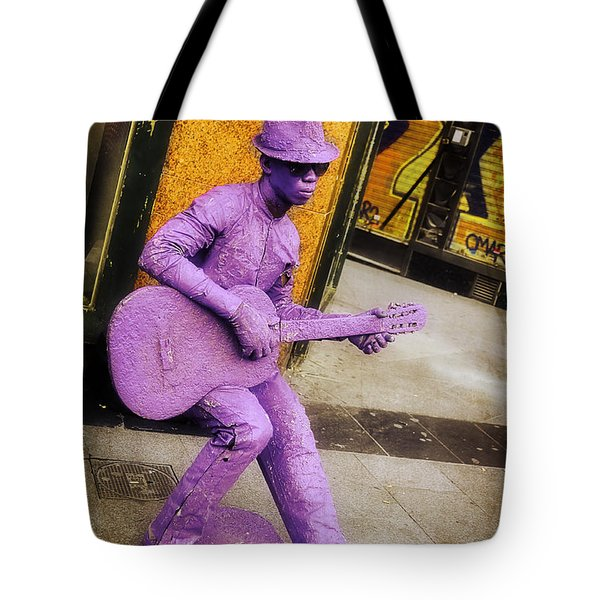 Play The Music - Madrid Tote Bag by Mary Machare