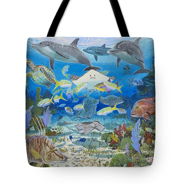 Play Time Re0018 Tote Bag by Carey Chen