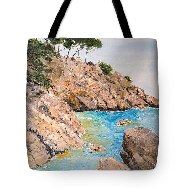Playa De Aro Tote Bag