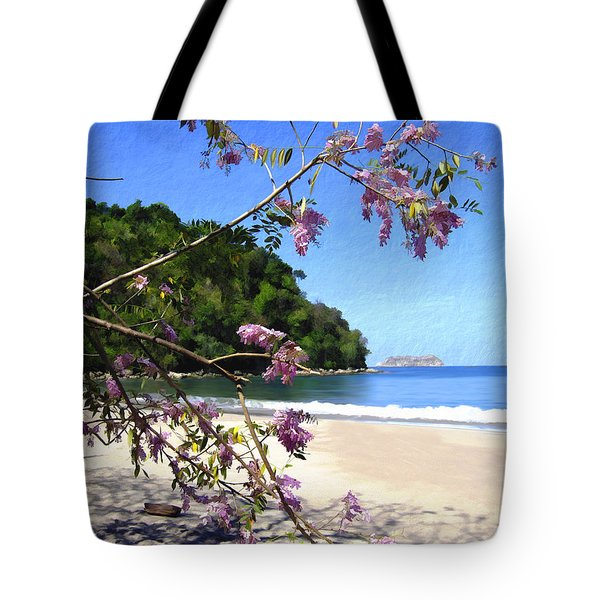Playa Espadillia Sur Manuel Antonio National Park Costa Rica Tote Bag by Kurt Van Wagner
