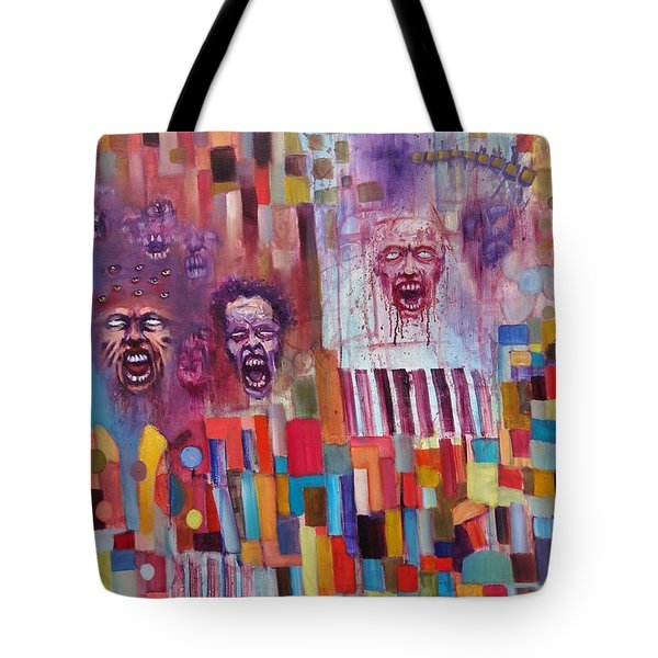 Playground Of The Undead Tote Bag