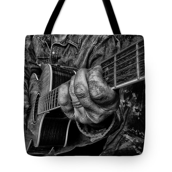 Playin The Blues Tote Bag