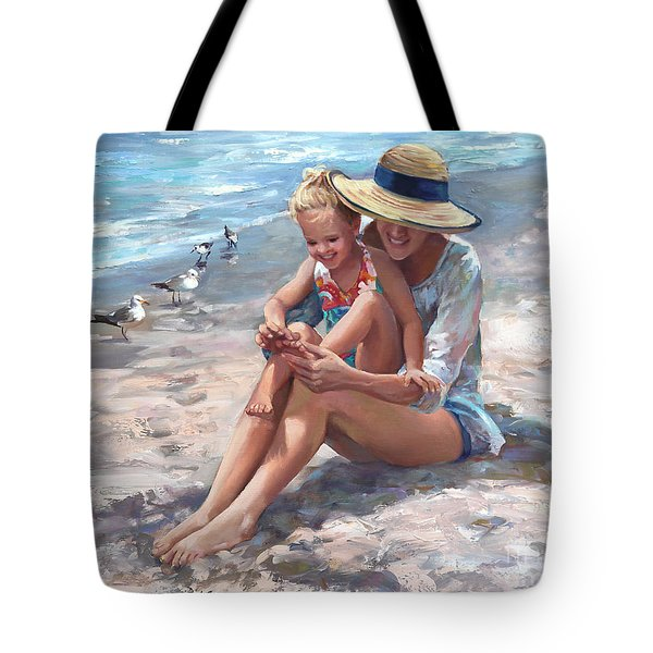 Playing Little Piggies Tote Bag