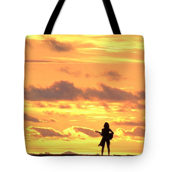Playing To The Sun Tote Bag