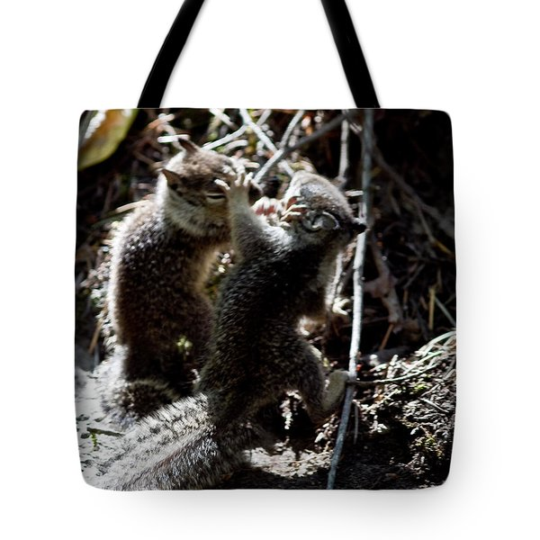 Tote Bag featuring the photograph Playing U.f.c. by Brian Williamson