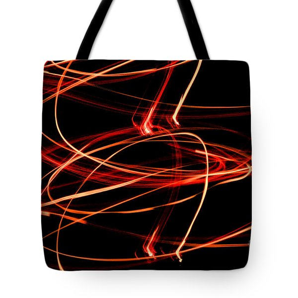 Playing With Fire 13 Tote Bag by Cheryl McClure