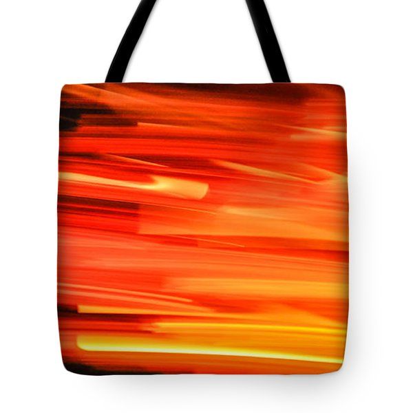 Playing With Fire 17 Tote Bag by Cheryl McClure