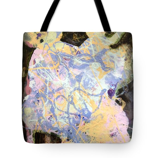 Playing With Grandma Tote Bag by Marilyn Jacobson
