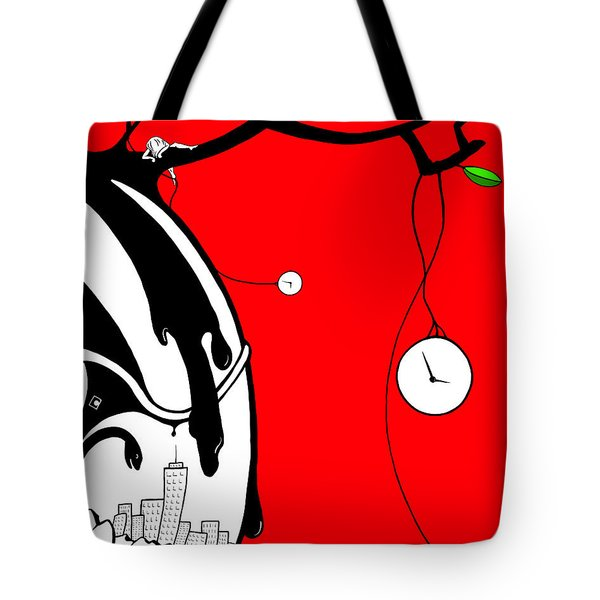Playing With Time Tote Bag