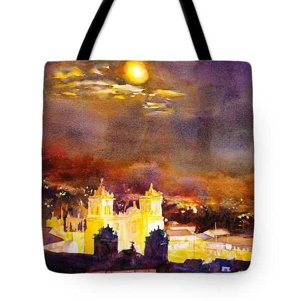 Plaza De Armas- Cusco Tote Bag by Ryan Fox