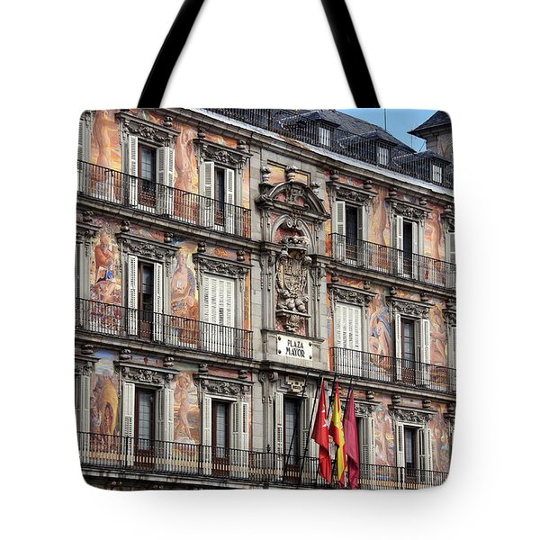 Plaza Mayor Tote Bag